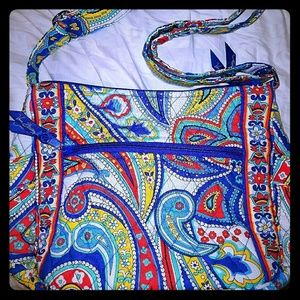 👛Vera Bradley Marina Paisley On The Go Purse NWOT